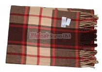 Cashmere Feel Classic Scarf Brown/Tan