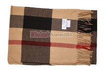 Cashmere Feel Classic Scarf Camel