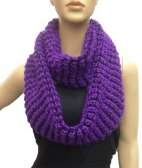 Wholesale Infinity Twist Scarf Purple